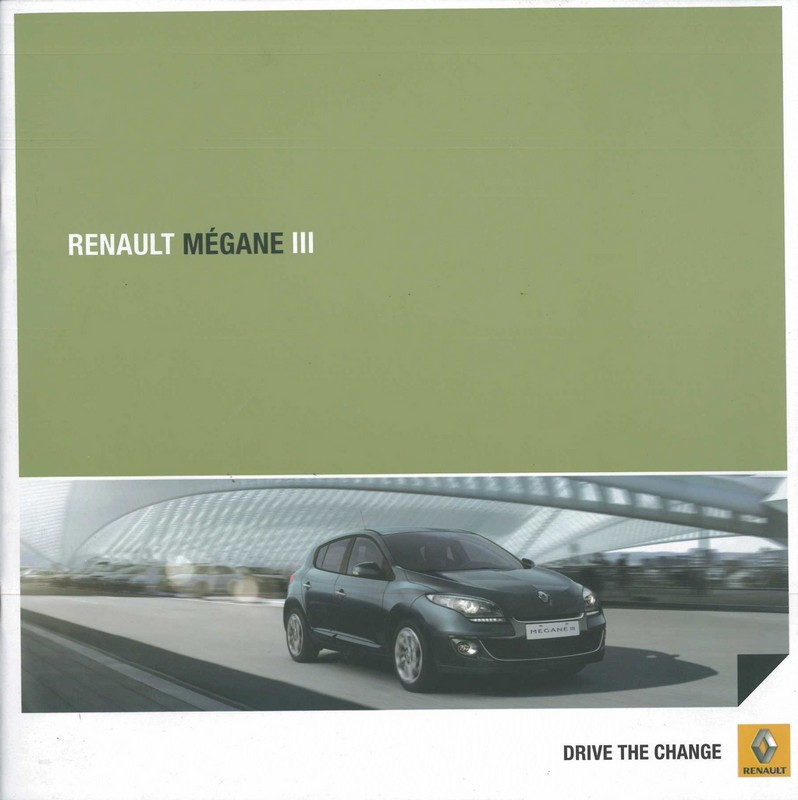2012 renault megane iii brochure spanish argentina. Black Bedroom Furniture Sets. Home Design Ideas