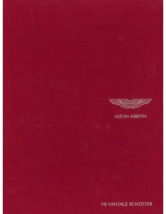 2007 ASTON MARTIN V8 VANTAGE ROADSTER HARDCOVER PROSPEKT ENGLISCH