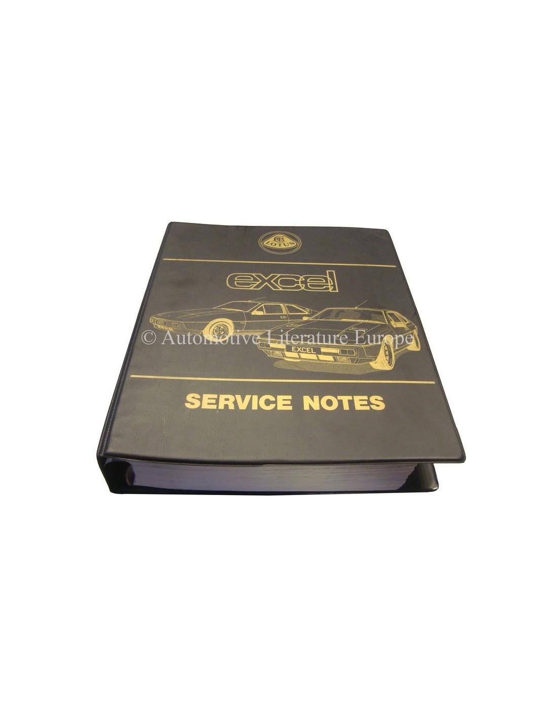 1986 lotus excel workshop manual english rh autolit eu Lotus Exige GT3 Lotus Exige