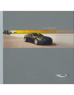 2005 ASTON MARTIN V8 VANTAGE BROCHURE ENGLISH