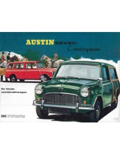 1961 MINI SEVEN COUNTRYMAN BROCHURE NEDERLANDS