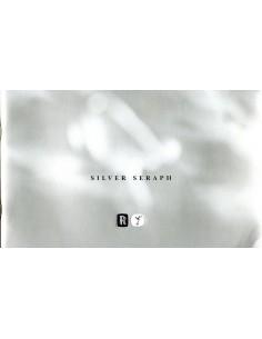 1998 ROLLS ROYCE SILVER SERAPH BROCHURE ENGELS