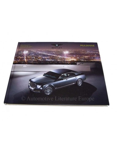 2013 BENTLEY MULSANNE HARDCOVER BROCHURE ENGELS