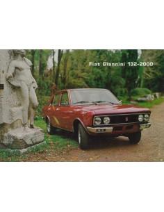 1977 FIAT GIANNINI 132-2000 LEAFLET ITALIAANS