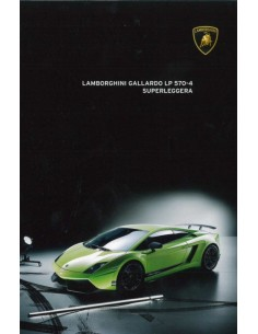 2011 LAMBORGHINI GALLARDO LP 570-4 SUPERLEGGERA BROCHURE ENGELS