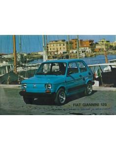 1973 FIAT GIANNINI 126 LEAFLET ITALIAANS