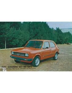 1973 FIAT GIANNINI 127 NP NP-S LEAFLET ITALIAANS