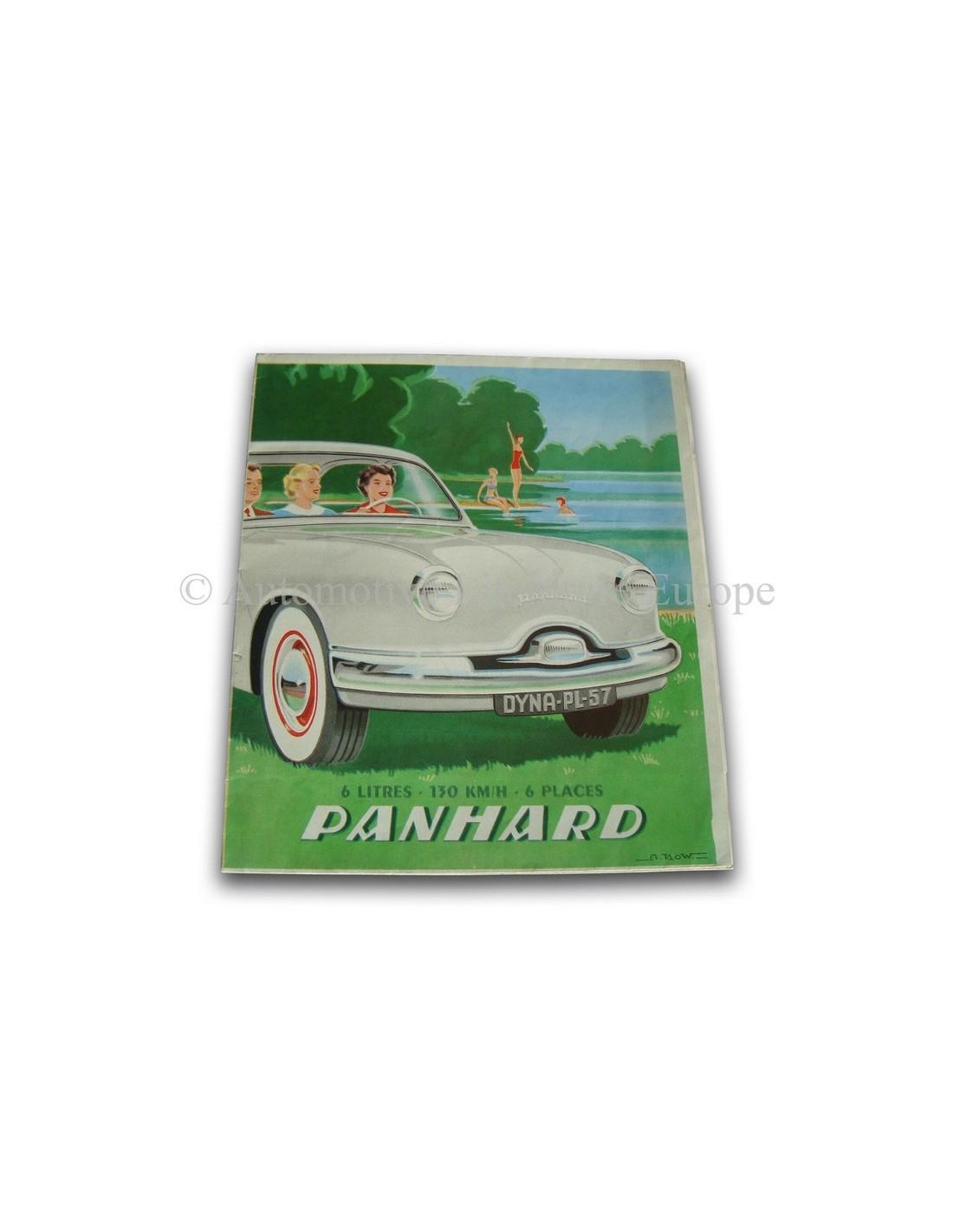 1957 Panhard Dyna Brochure Frans