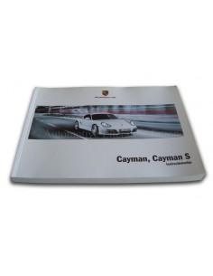 2010 PORSCHE CAYMAN & S INSTRUCTIEBOEKJE NEDERLANDS