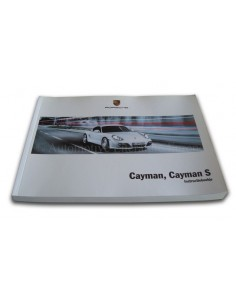 2010 PORSCHE CAYMAN & S INSTRUCTIEBOEKJE NEDERLANDS