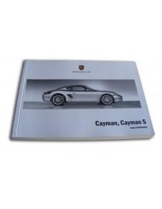 2007 PORSCHE CAYMAN & S INSTRUCTIEBOEKJE NEDERLANDS