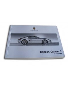 2007 PORSCHE CAYMAN & S INSTRUCTIEBOEKJE NEDERLANDS