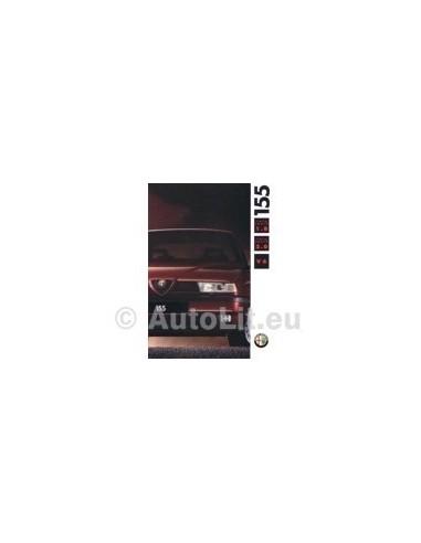 1992 ALFA ROMEO 155 BROCHURE DUITS
