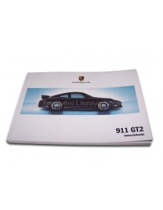 2009 PORSCHE 911 GT2 INSTRUCTIEBOEKJE NEDERLANDS