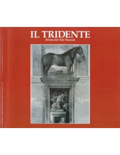 1990 RIVISTA DEL CLUB MASERATI IL TRIDENTE MAGAZINE NO 1