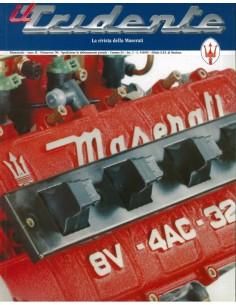1996 RIVISTA DEL CLUB MASERATI IL TRIDENTE MAGAZINE