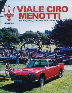2003 MASERATI VIALE CIRO MENOTTI MAGAZINE ENGELS