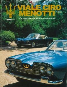 1999 MASERATI VIALE CIRO MENOTTI MAGAZINE ENGELS