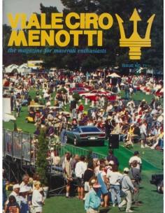 1996 MASERATI VIALE CIRO MENOTTI MAGAZINE ENGELS