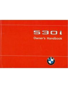1974 BMW 5 SERIE INSTRUCTIEBOEKJE ENGELS USA