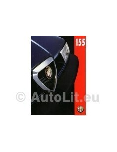 1995 ALFA ROMEO 155 BROCHURE NEDERLANDS