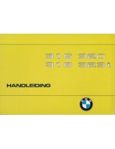 1979 BMW 3 SERIE INSTRUCTIEBOEKJE NEDERLANDS