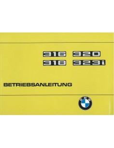 1978 BMW 3 SERIE INSTRUCTIEBOEKJE DUITS
