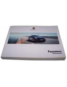 2014 PORSCHE PANAMERA INSTRUCTIEBOEKJE DUITS