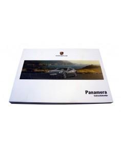 2012 PORSCHE PANAMERA INSTRUCTIEBOEKJE NEDERLANDS