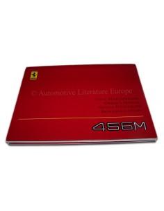 2001 FERRARI 456M GT GTA INSTRUCTIEBOEKJE IT GB FR DE