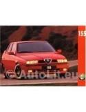 1995 ALFA ROMEO 155 LEAFLET NEDERLANDS