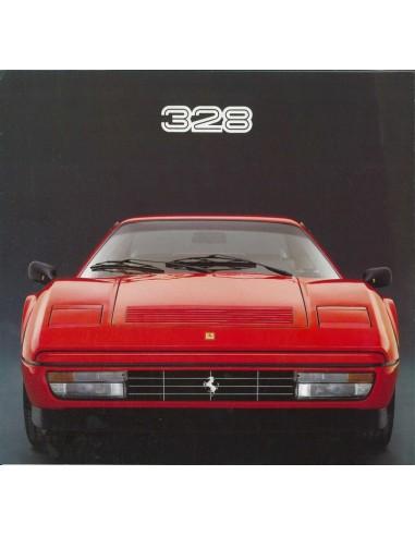 1985 FERRARI 328 GTB BROCHURE 387/85
