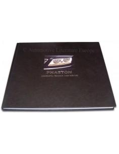 2002 VOLKSWAGEN PHAETON HARDCOVER BROCHURE DUITS
