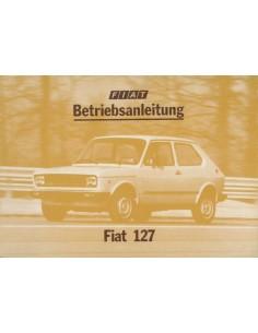 1977 FIAT 127 INSTRUCTIEBOEKJE DUITS
