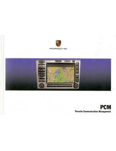 2007 PORSCHE PCM INSTRUCTIEBOEKJE DUITS
