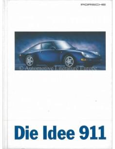 1996 PORSCHE 911 CARRERA, TARGA & TURBO HARDCOVER BROCHURE DUITS