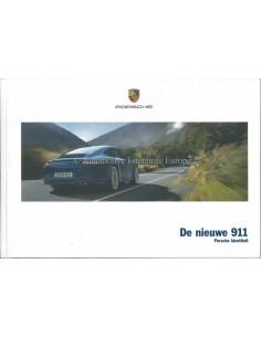2012 PORSCHE 911 CARRERA HARDCOVER BROCHURE NEDERLANDS