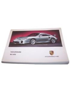2001 PORSCHE 911 GT2 INSTRUCTIEBOEKJE NEDERLANDS