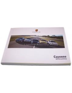 2011 PORSCHE CAYENNE INSTRUCTIEBOEKJE DUITS