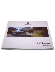 2013 PORSCHE 911 CARRERA INSTRUCTIEBOEKJE DUITS