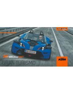 2013 KTM X BOW GT GRAN TURISMO BROCHURE DUITS