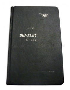 1965 BENTLEY T TYPE OWNER'S MANUAL ENGLISH