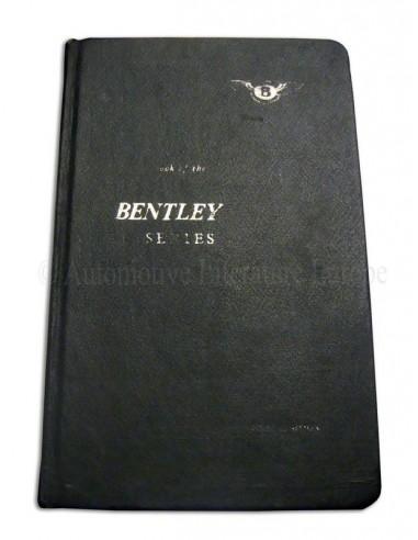1965 BENTLEY T TYPE INSTRUCTIEBOEKJE ENGELS