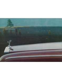 1977 ROLLS ROYCE SILVER SHADOW II BROCHURE ARABISCH