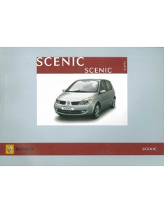 2006 RENAULT SCENIC INSTRUCTIEBOEKJE NEDERLANDS