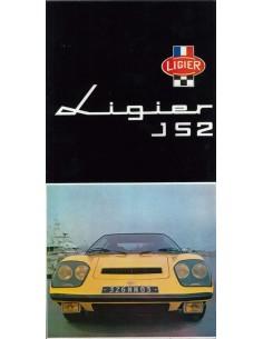 1974 LIGIER JS2 BROCHURE FRANS
