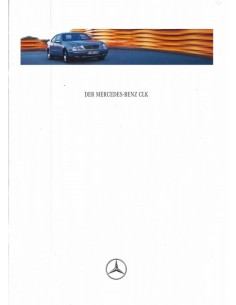 1997 MERCEDES BENZ CLK COUPE BROCHURE DUITS
