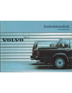 1986 VOLVO 760 INSTRUCTIEBOEKJE ZWEEDS