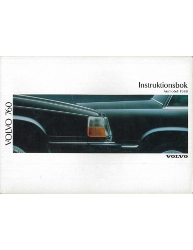 1988 volvo 760 owner s manual swedish rh autolit eu 1988 volvo 240 service manual 1988 volvo 740 gle owners manual