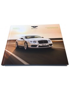 2014 BENTLEY CONTINENTAL GT GTC V8 S HARDCOVER BROCHURE ENGELS
